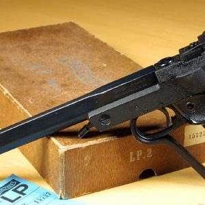 Air pistol shooting