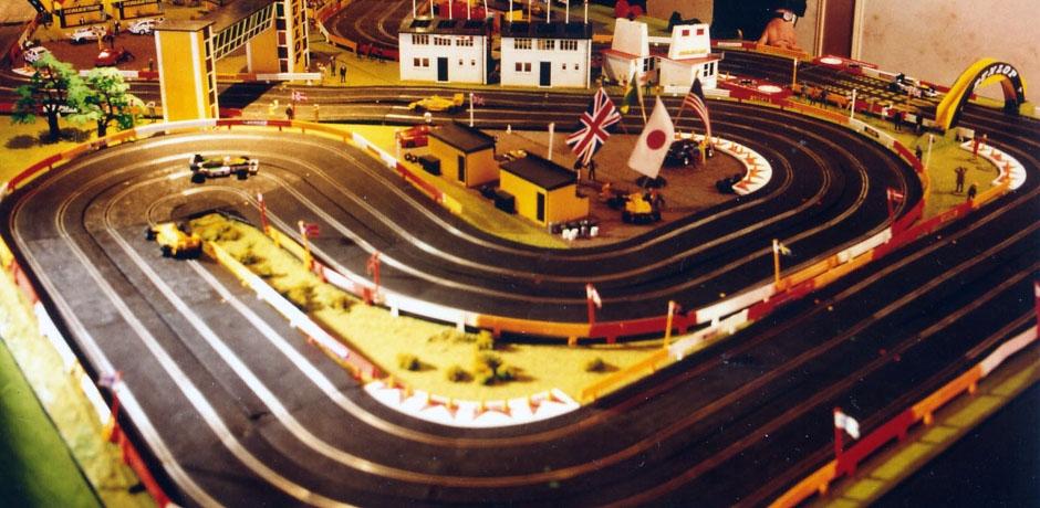 Scalextric model car racing