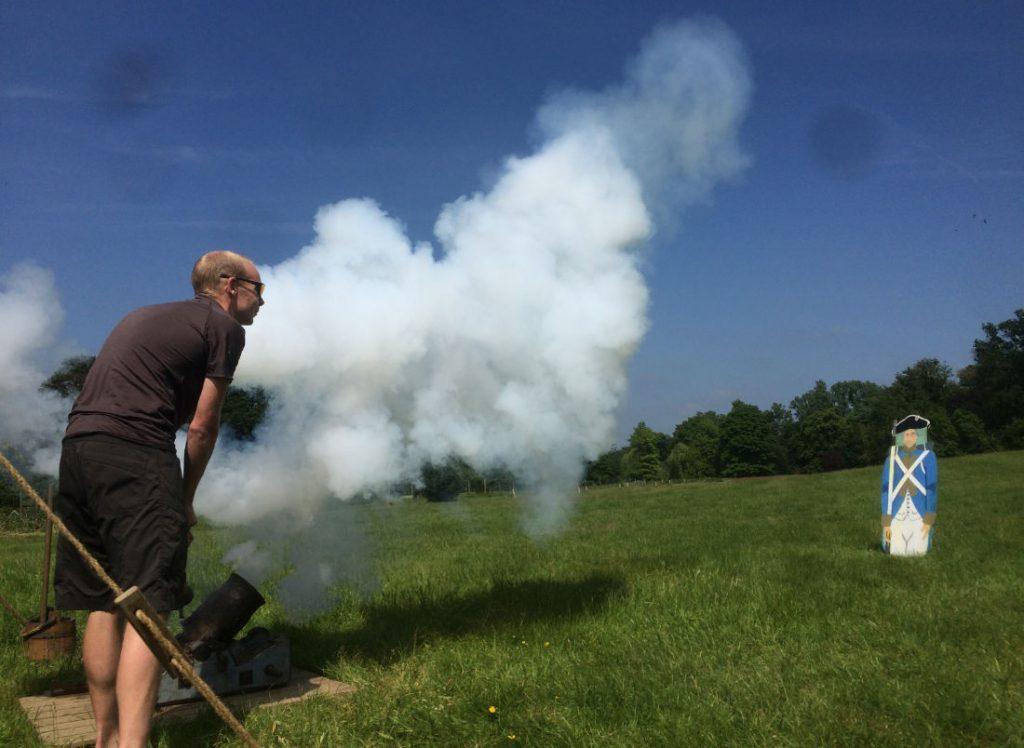 Cannon Firing - Eventive